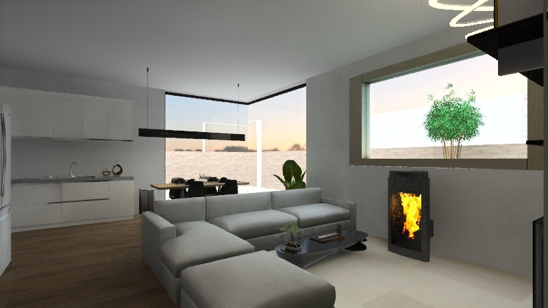 Résidence de L'enclos  Interior Design Render