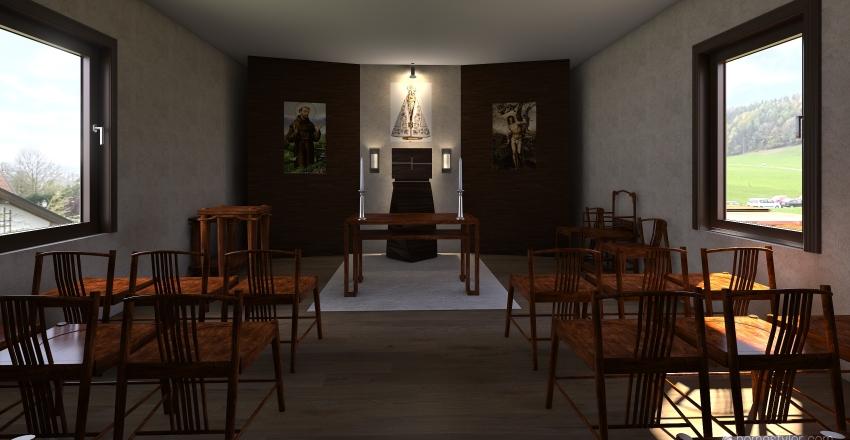 Capela Labrea Interior Design Render