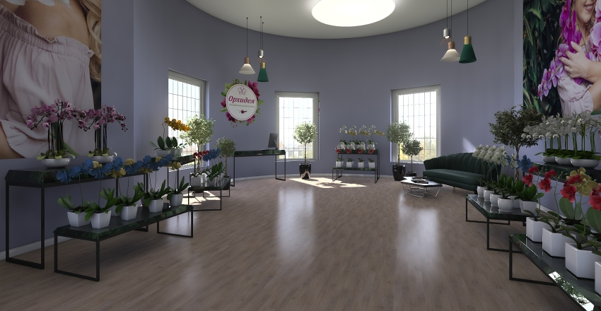 25 orchid Interior Design Render