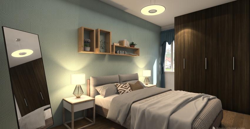 RECAMARA DUPLEX Interior Design Render