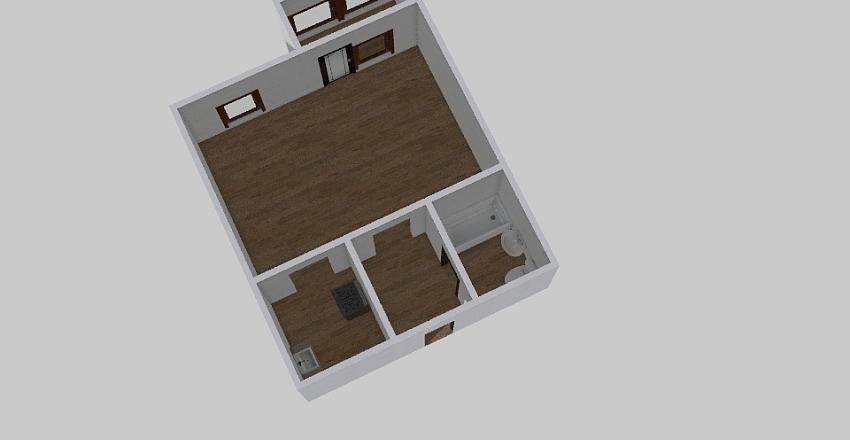 1-комн_0384 Interior Design Render