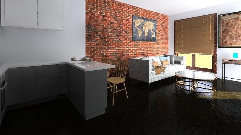 Kącik Interior Design Render
