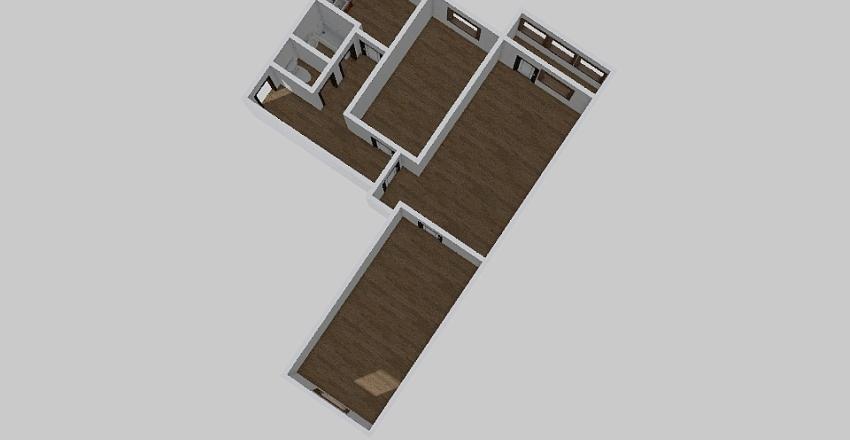 3-комн_0147_1 Interior Design Render