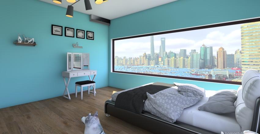 NYC House Interior Design Render