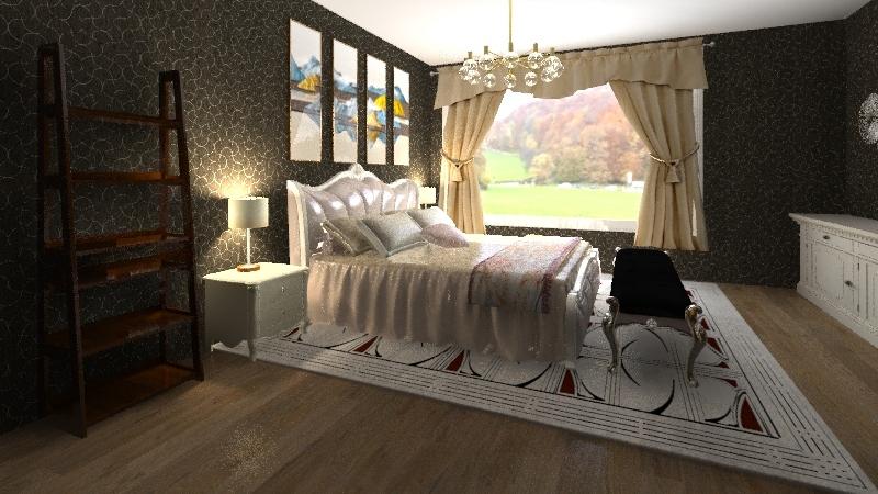 kamar Interior Design Render