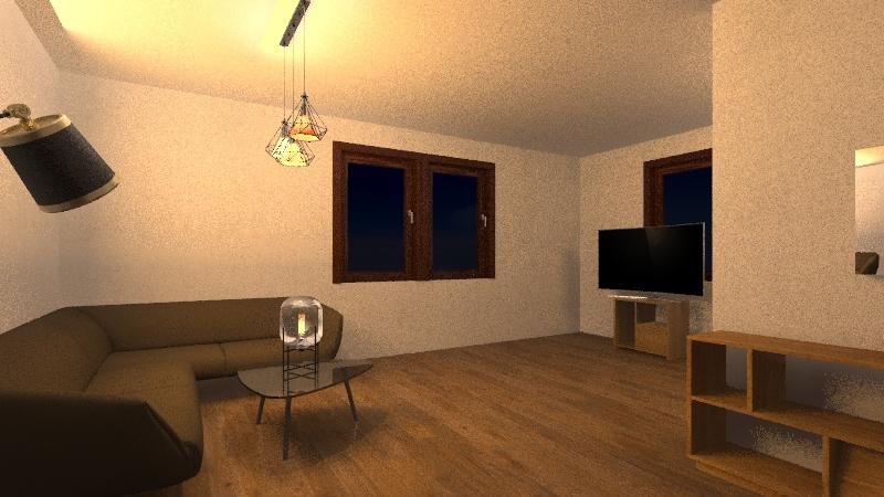 Sammys Wohnung Interior Design Render