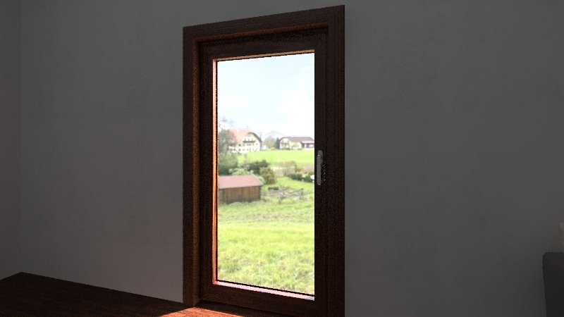 stanza prova Interior Design Render