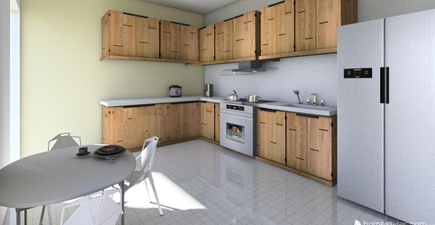 cocinaaa Interior Design Render