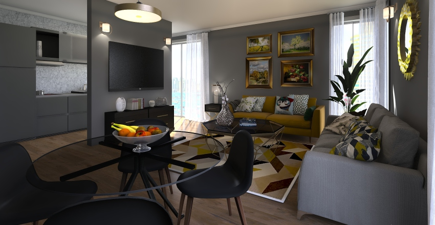 EmHouse Interior Design Render