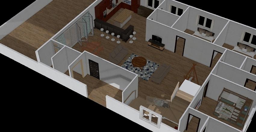 Dream Medows Interior Design Render