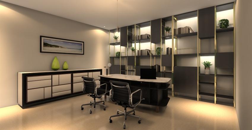 Ofic. Inneriraty Interior Design Render