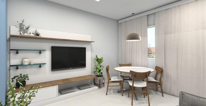 Aline Alencar Interior Design Render