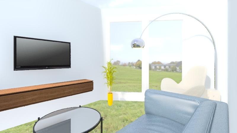 Law Salon 2 Interior Design Render