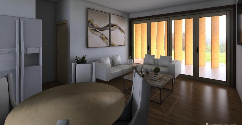 2 Habitaciones Manzanillo Interior Design Render
