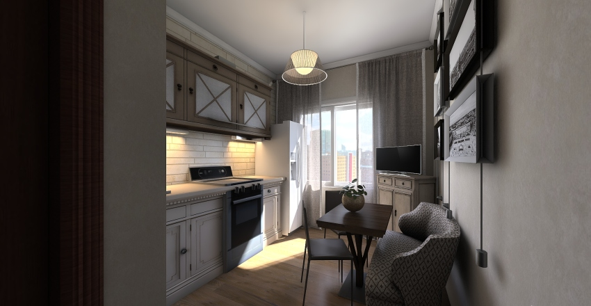 Lena Interior Design Render