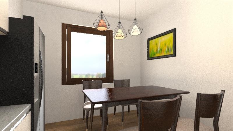 Sara Profico Interior Design Render