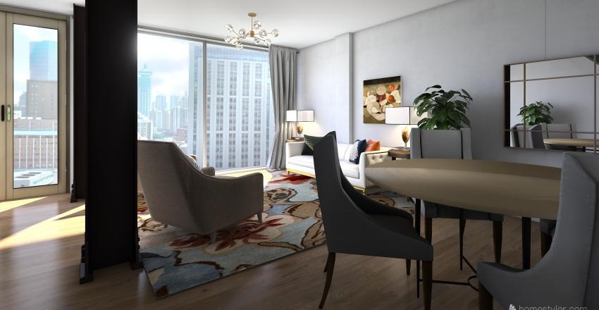 Module 7 living room Interior Design Render