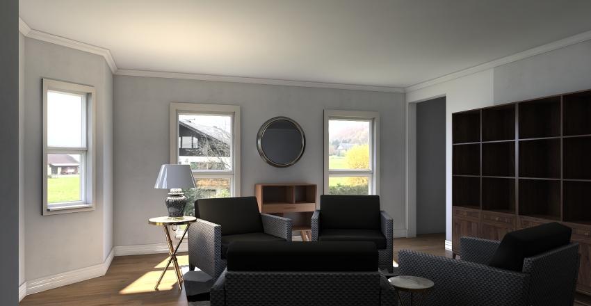 Madeline - living room Interior Design Render