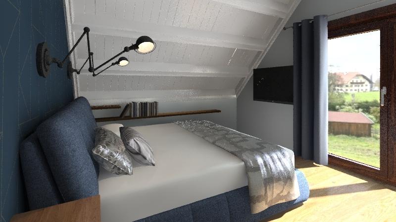 sypialna  Interior Design Render