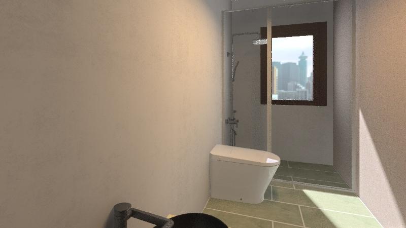 Perretta Bagno 1p Interior Design Render
