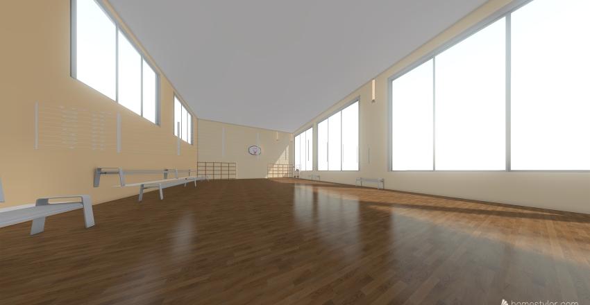 Спортзал Interior Design Render