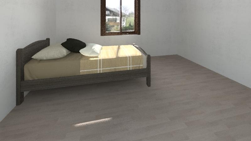 bedroom1 Interior Design Render
