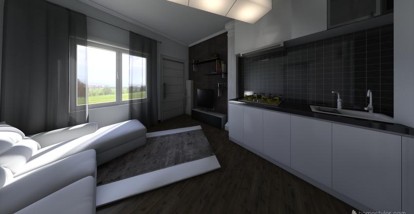 2020 evtas 1+1 Interior Design Render