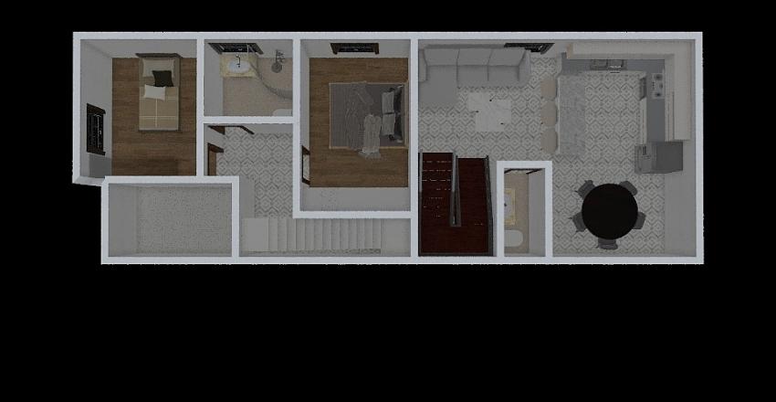 segunda planta Interior Design Render