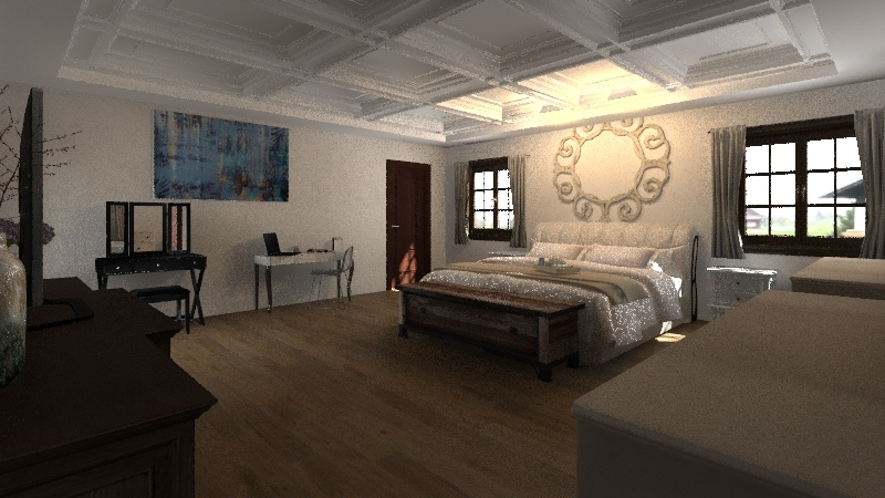 The Big and Beautiful Interior Design Render