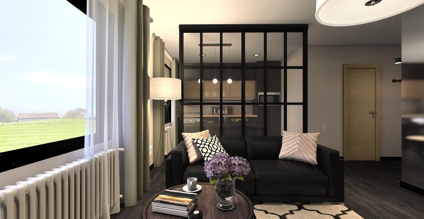 Apartment for a modern family Interior Design Render