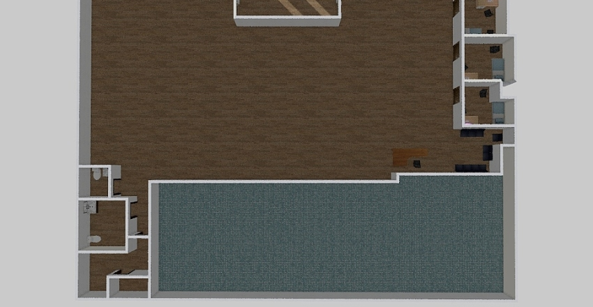 Chatham Floor plan v1 Interior Design Render