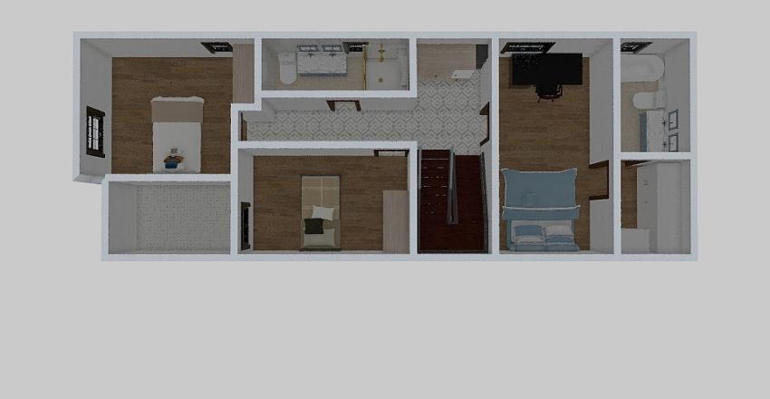 tercer pisoo Interior Design Render