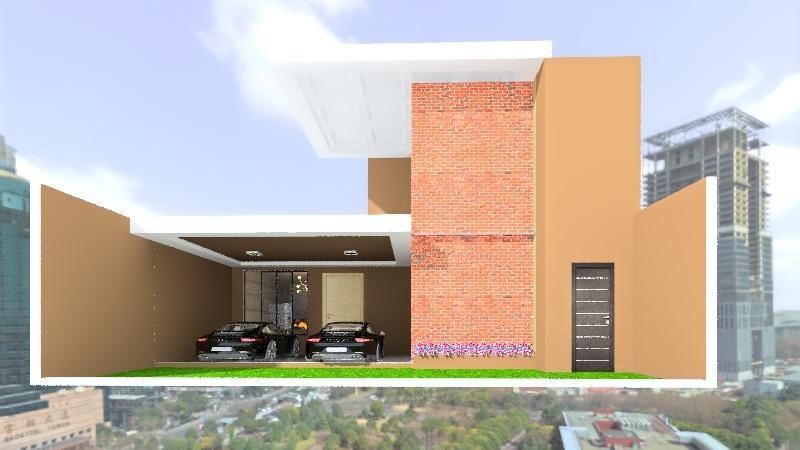 CEDRAL 105M² Interior Design Render