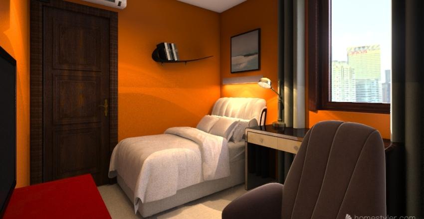 двух комнатная и салон вар 1 Interior Design Render