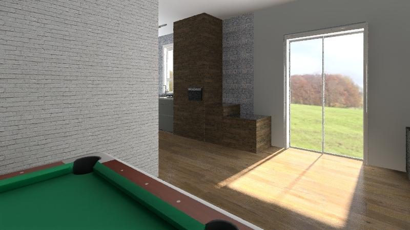 Casa da Roça Interior Design Render