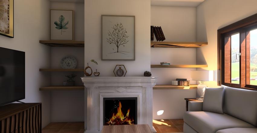 motril salon Interior Design Render