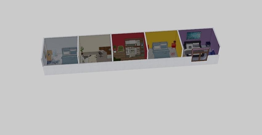 color scheme project Interior Design Render
