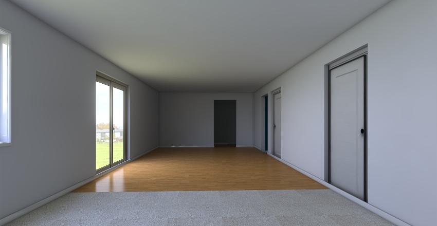 Renee's Living Room Interior Design Render