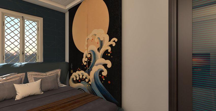 Mark's room Interior Design Render