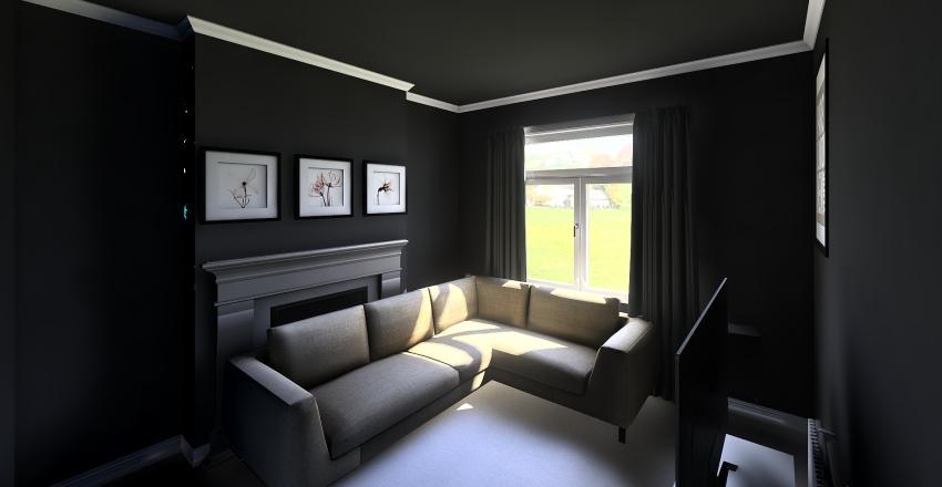 Side Room Interior Design Render