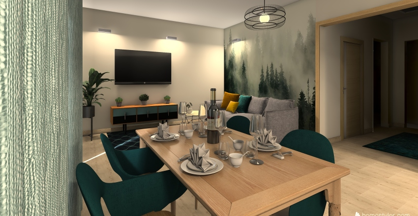 an an new Interior Design Render
