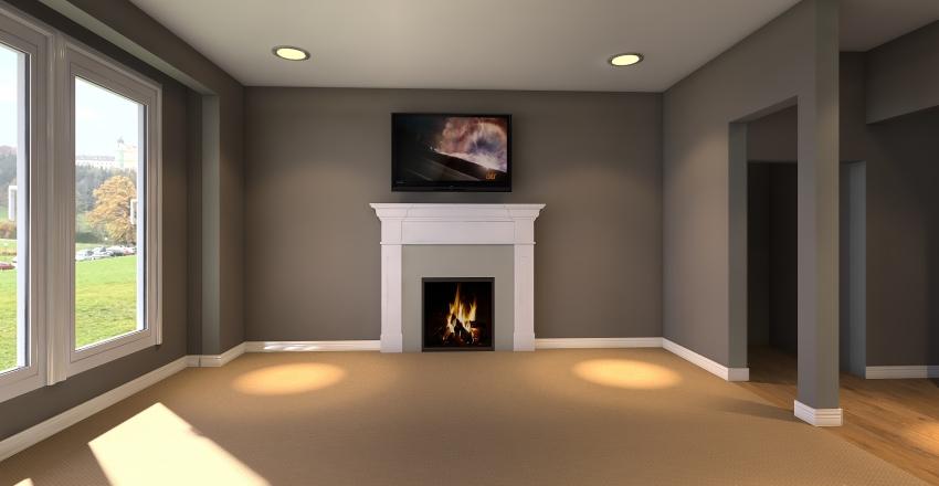 ABBY LIVING ROOM Interior Design Render