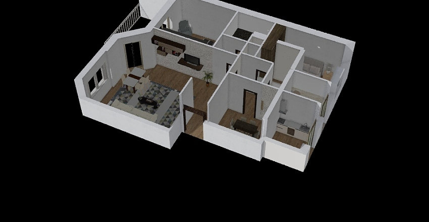 Nataliya Kovtun Interior Design Render