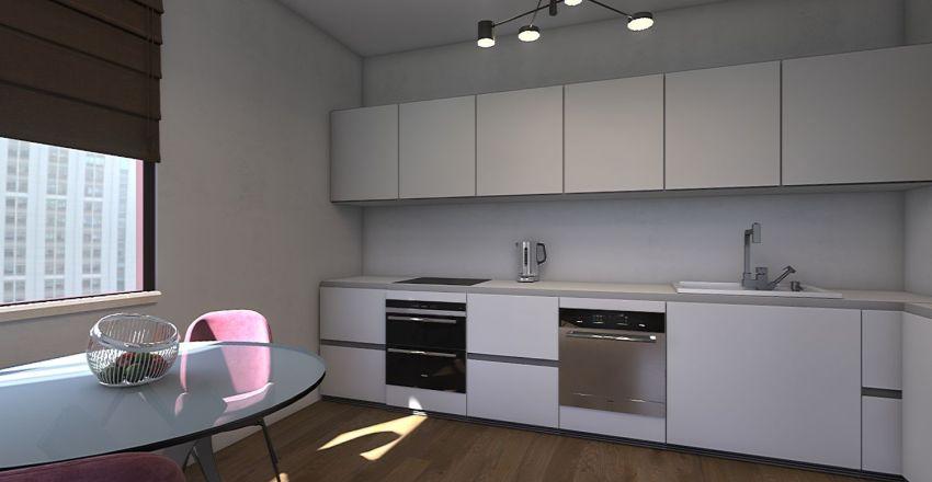 Чехова 33, кв. 55 Interior Design Render