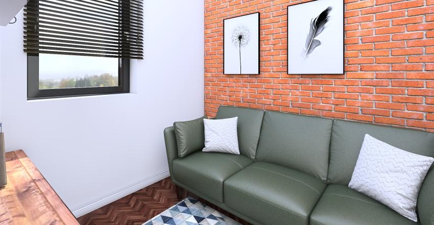 domek 1 Interior Design Render