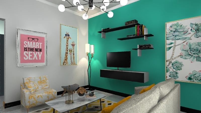Small Apartment II Interior Design Render