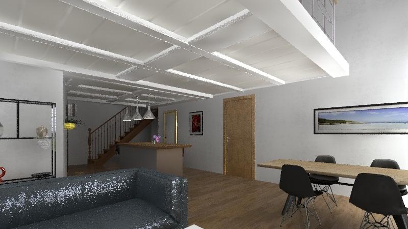 grain d'or 2 bed Interior Design Render