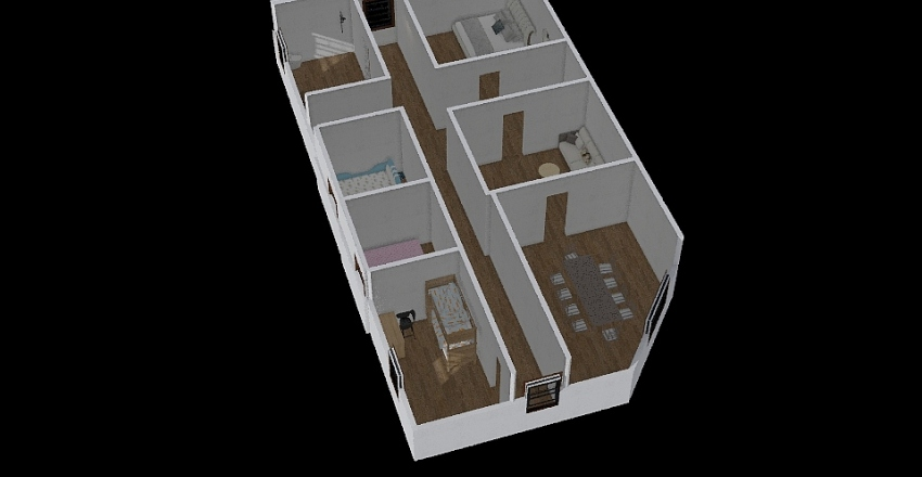 dinas work  Interior Design Render