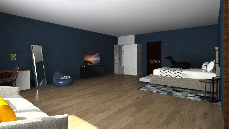 evas house Interior Design Render
