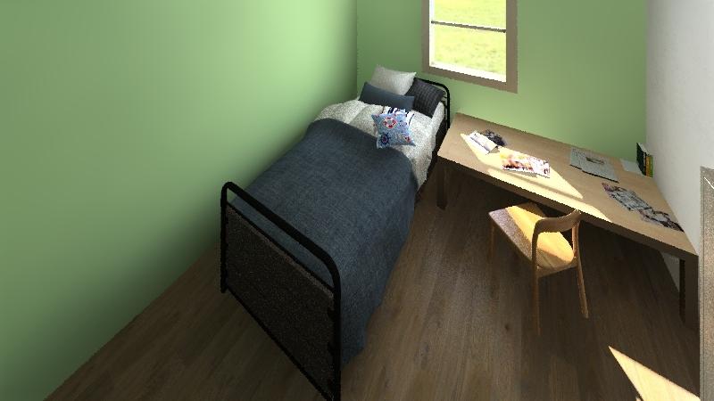 ospedale Interior Design Render